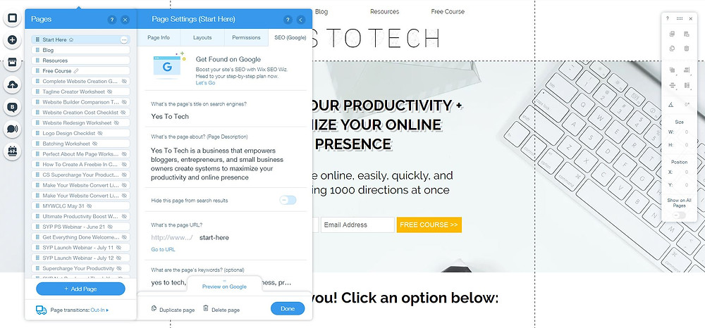 Can I optimize my Wix website for SEO? - Yes To Tech