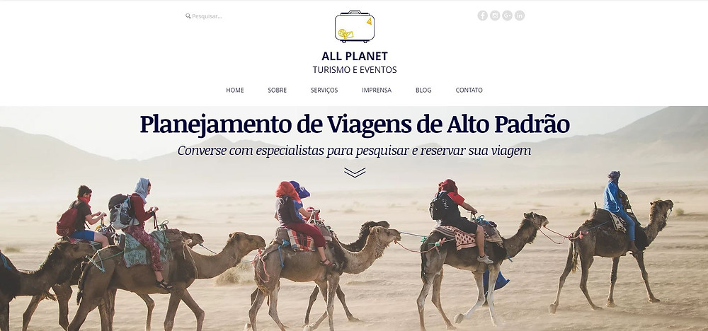 All Planet Homepage