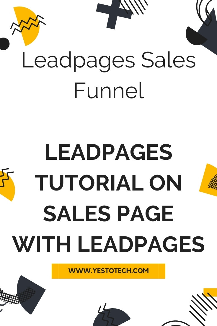 Leadpages Sales Funnel: Leadpages Tutorial On Sales Page With Leadpages (Best Landing Page Builder). Wondering how to create a sales page with Leadpages? In this Leadpages tutorial and Leadpages review, you'll learn how to make a Leadpages sales funnel with ease. If you want to build an online sales funnel or a landing page Leadpages, this Leadpages how to video on the Leadpages page builder is for you. Stay tuned until the end of this video to find out how to use Leadpages landing page builder, which is the best landing page builder, to make money online in this landing page tutorial.