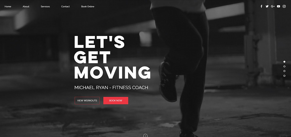 The Very Best Wix Templates To Create A Website That Converts Like Crazy - Yes To Tech - Fitness Coach