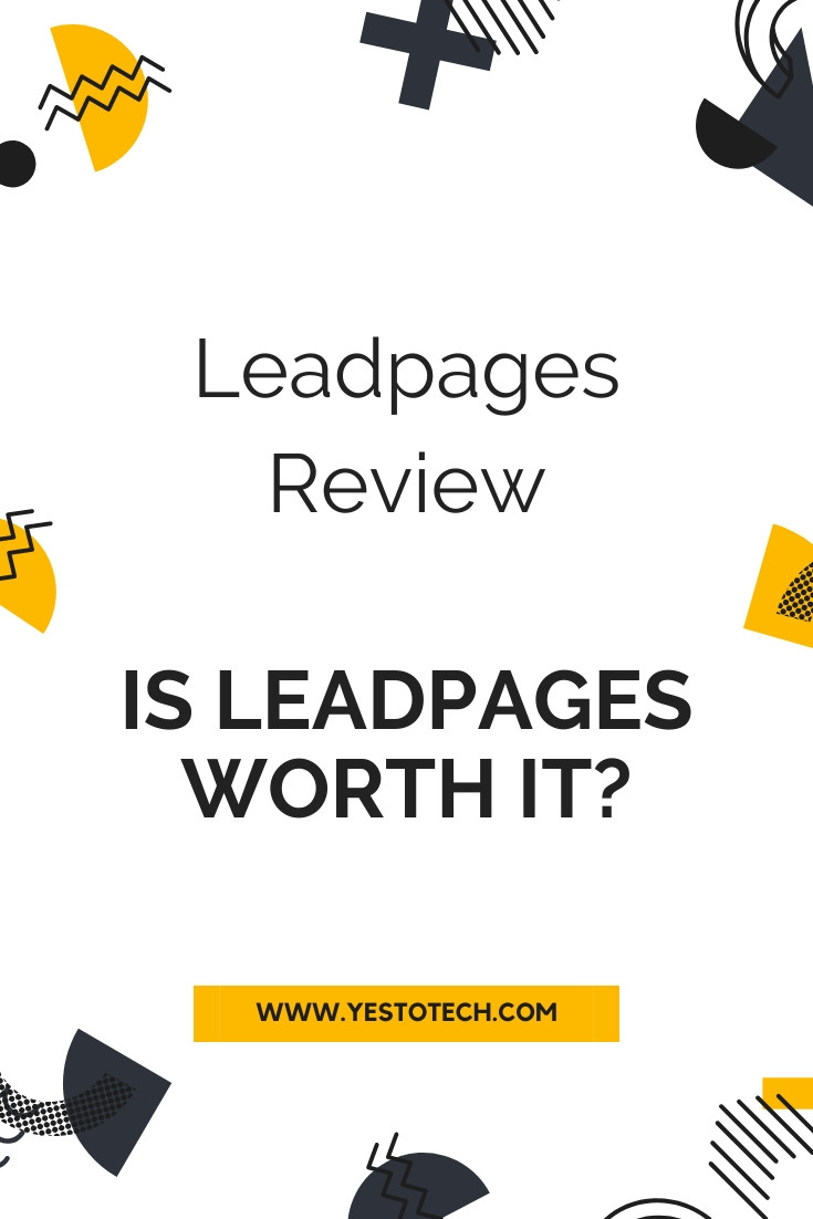 Leadpages Review: Is Leadpages Worth It? | Yes To Tech