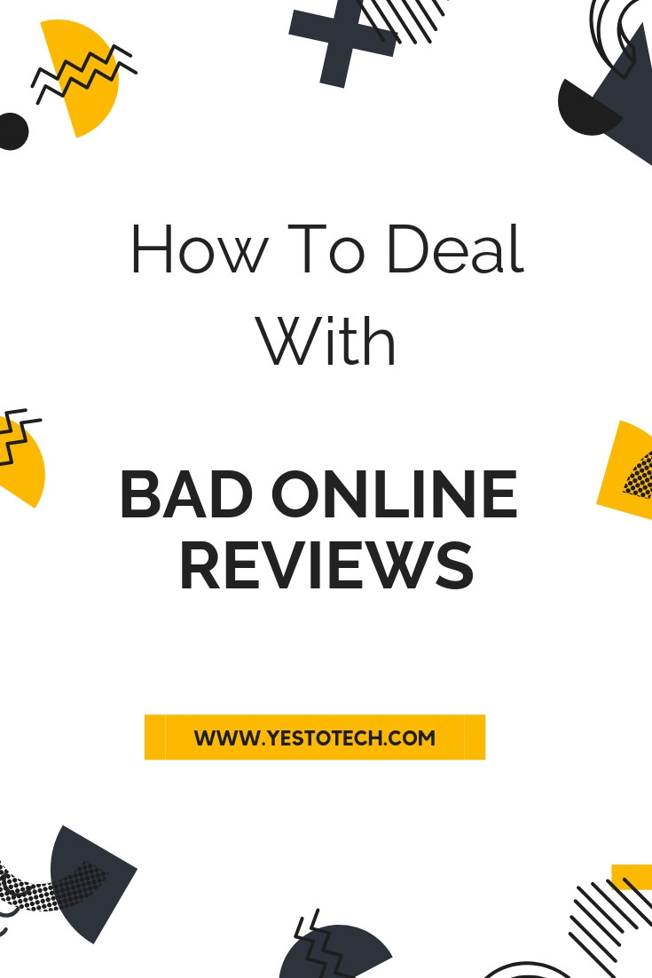 Online reviews define an online business' reputation. A negative online review can damage your online reputation and hinder your online business. You need social proof and positive reviews to stand out online. Here's how to deal with online reviews to manage your online reputation as an online entrepreneur.