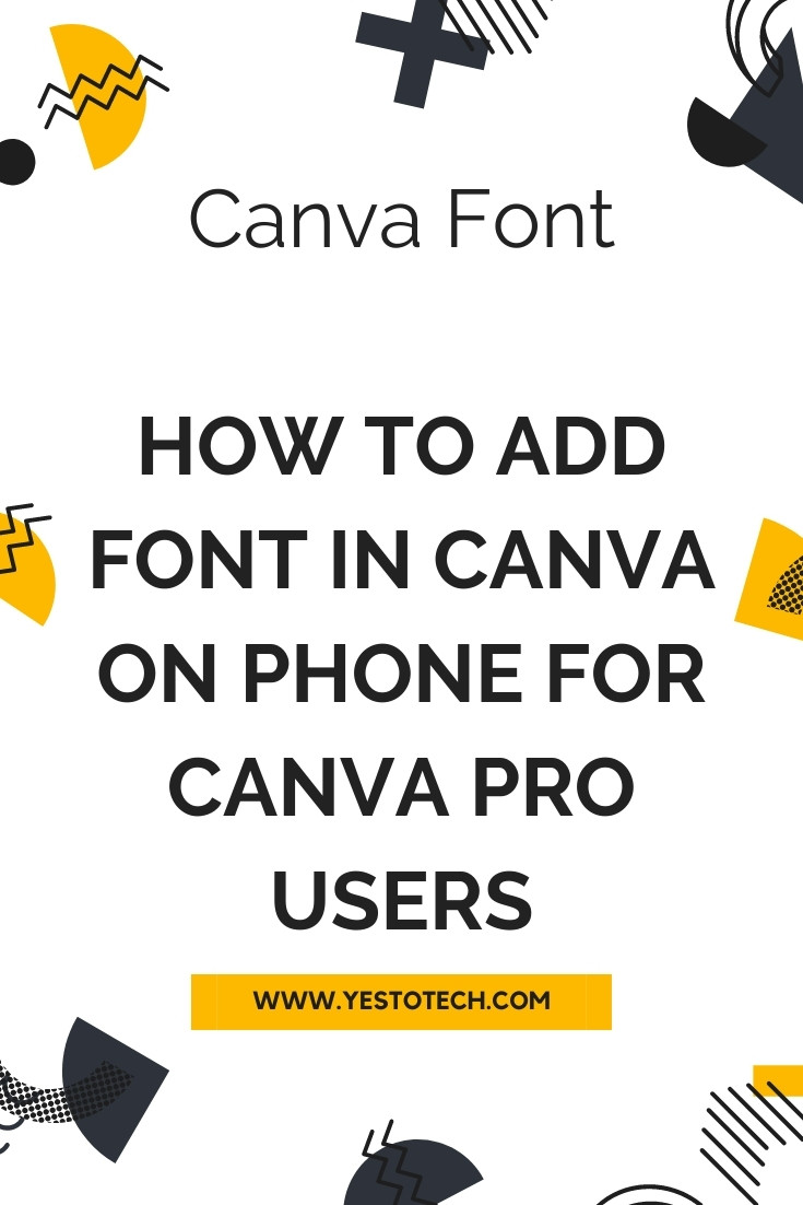 CANVA FONT: Canva Tutorial On How To Add Font In Canva On Phone For Canva Pro Users. Wondering how to add a font on Canva on your phone? In this Canva font tutorial, you'll learn how to upload fonts to your Canva account using the Canva app on your mobile device. If you want to insert font in Canva on desktop instead, make sure to watch my video on that topic (watch how to import new fonts on canva: https://youtu.be/ouElwYUltzM). For those who want to learn how to upload custom fonts in Canva in a Canva tutorial for beginners, let's get right into these Canva text effects on how to add your own font on Canva using your phone and how to use upload fonts in Canva. By the end of this video you'll know all about Canva fonts and Canva font combinations, namely how to use Canva to add font on Canva app and how to add font in Canva mobile.