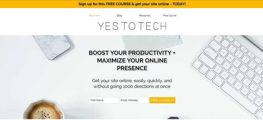 Can I add a customized announcement bar to the top of my Wix site? - Yes To Te