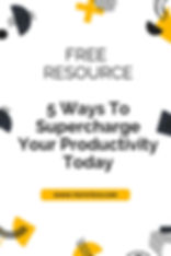 Resources - 5 Ways To Supercharge Your P