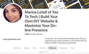 How I Increased My Pinterest Followers From 837 To 1.6K On Autopilot With Viraltag | Yes To Tech