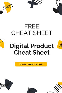Resources - Digital Product Cheat Sheet.