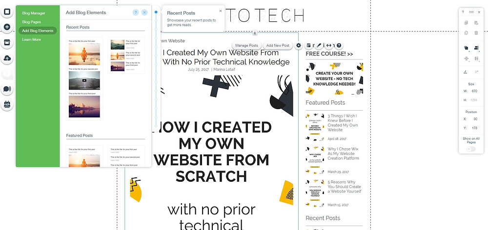 Can I blog with Wix? - Yes To Tech