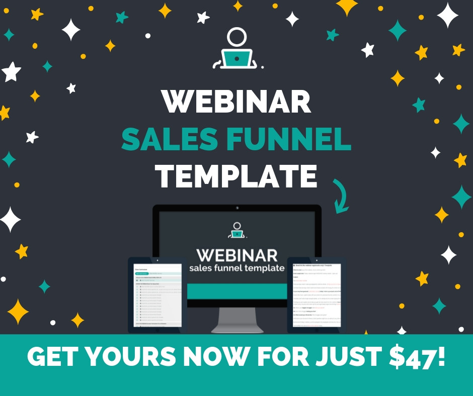 Webinar Sales Funnel Template | Yes To Tech