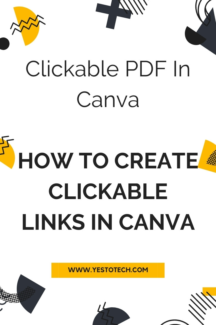 CLICKABLE PDF IN CANVA: How To Create Clickable Links In Canva. Wondering how to create a clickable PDF in Canva? In this Canva tutorial, you'll learn how to create clickable links in Canva to design an interactive PDF. So let's get right into how to insert hyperlinks in your designs in Canva with ease. If you've been wondering how to add clickable links in Canva by adding links in PDF or hyperlink in PDF, this Canva Pro (previously Canva for work) and Canva for beginners tutorial is for you. We'll be sharing Canva tips and tricks on how to design with Canva so that you can start creating clickable PDFs in Canva. Get ready to discover how to use Canva to make the most out of your Canva design.