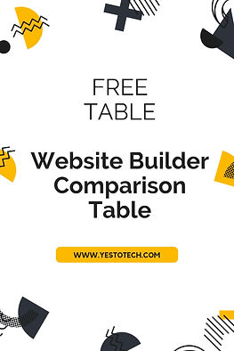 Resources - Website Builder Comparison T