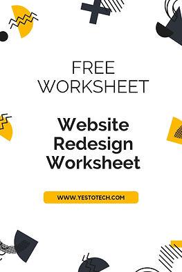 Resources - Website Redesign Worksheet.j