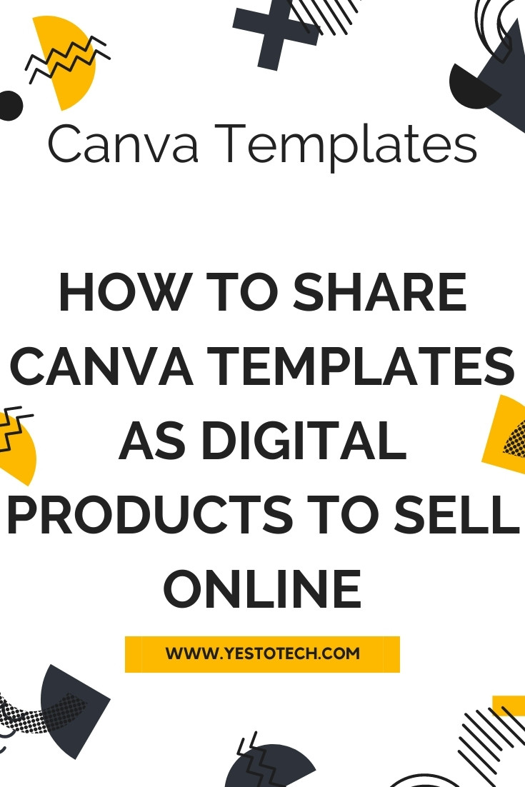 CANVA TEMPLATES: How to Share Canva Templates As Digital Products To Sell Online. Wondering how to create and share Canva templates as digital products that you can sell online? In this Canva template tutorial, you'll learn how to make money with Canva by selling digital products online, namely Canva templates. So let's get right into how to create, share and sell Canva templates. If you've been searching for Canva tips and tricks on how to use Canva and how to make money with Canva, this Canva tutorial on selling digital products online is for you.
