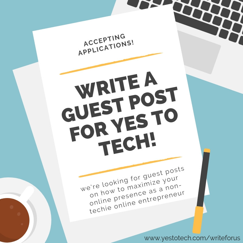 Guest Posting: The Traffic-Boosting Strategy You Haven't Tried (But Definitely Should) - Write For Us - Yes To Tech
