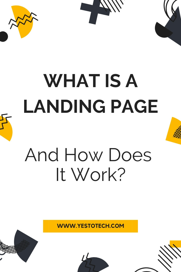 What Is A Landing Page? | Yes To Tech