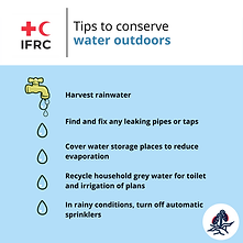 Copy of Tips to conserve water outdoors