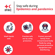 Stay safe during Epidemics and pandemics