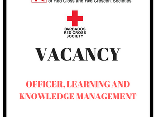 JOB Vacancy - Officer Learning & Knowledge Management