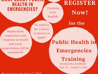 Participate in the PHiE Training!