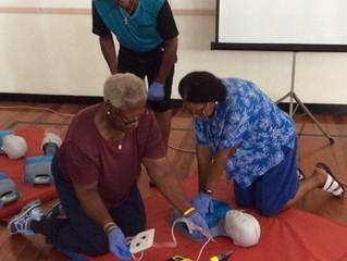 Bermuda Red Cross Prepares Senior Citizens!