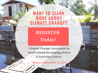 Climate Change Awareness in Small Island Developing States E-Learning Course
