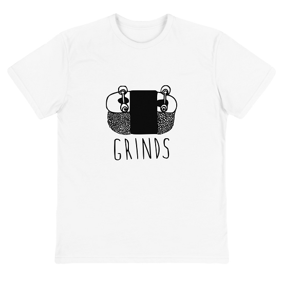 Grinds Sustainable T-Shirt White
