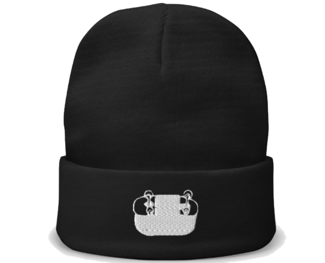 Grinds Embroidered Beanie