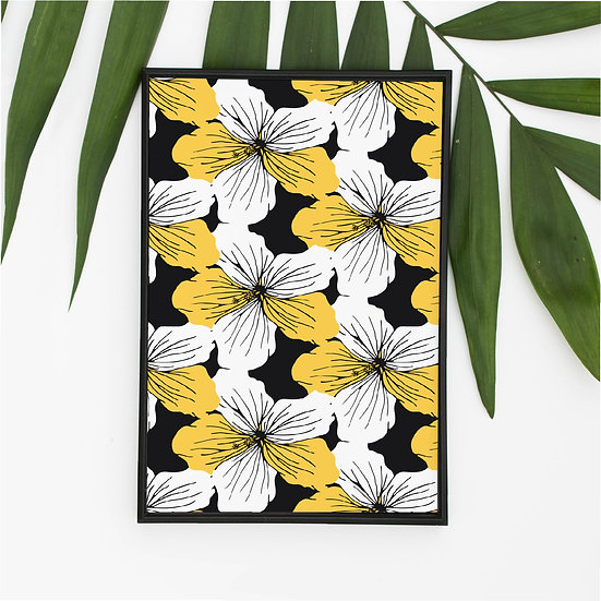"""Yellow Hibiscus"""