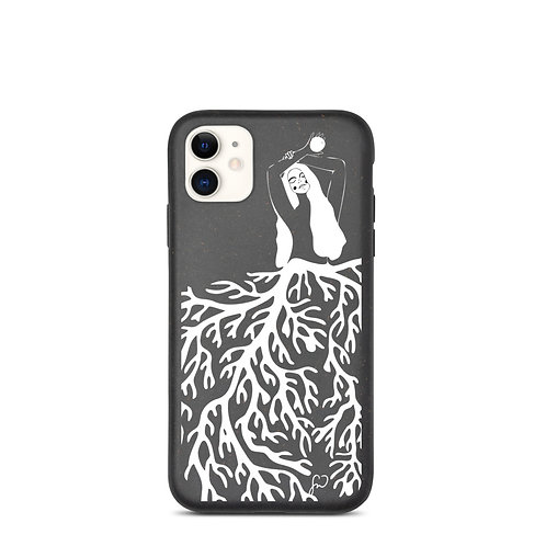 Coral Mermaid Biodegradable Phone Case