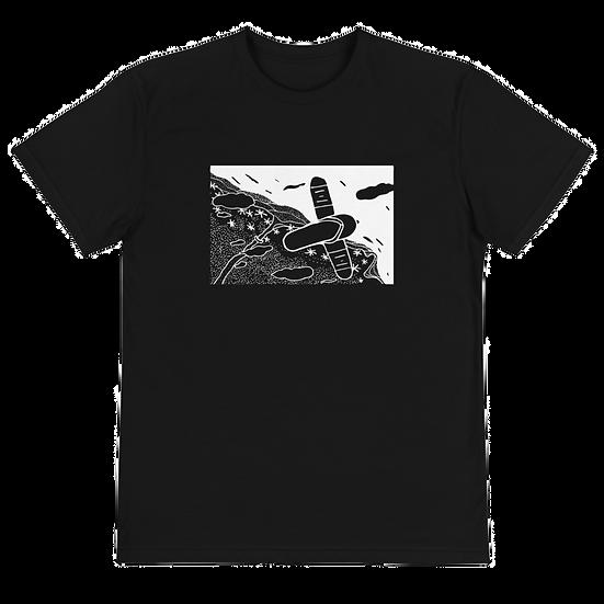 Flying Slipper Sustainable T-Shirt Black