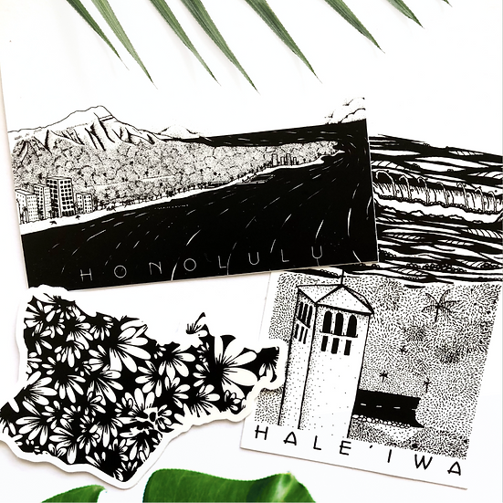 Hawaii Sticker Pack
