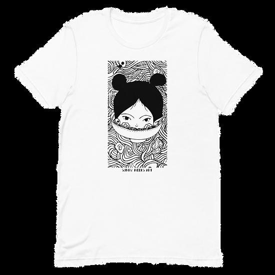 Fishcake White Short-Sleeve Unisex T-Shirt