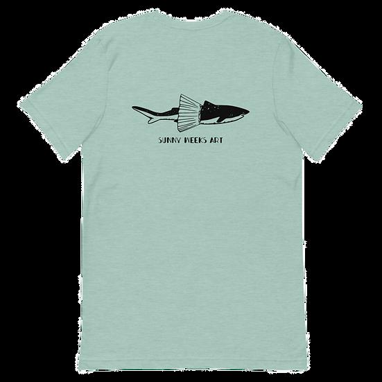 Tutu Shark Short-Sleeve Unisex T-Shirt