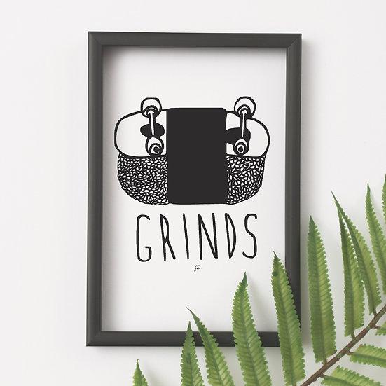 """Grinds"""