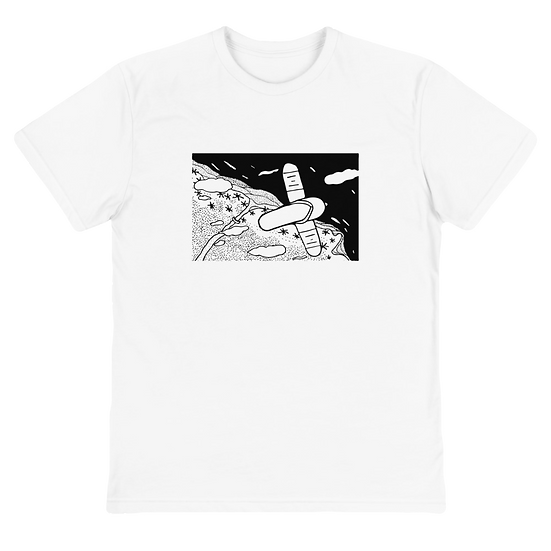 Flying Slipper Sustainable T-Shirt White