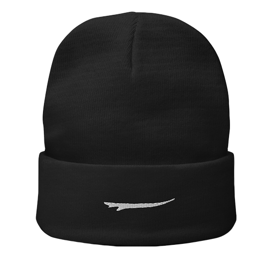 Solo Surfboard Embroidered Beanie
