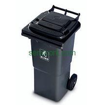 Használt hulladékgyűjtő edények, konténerek
