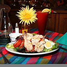 Ensalada Mixta w/Shrimp