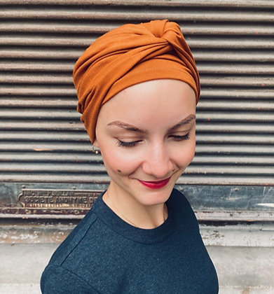 Ensemble volume (bonnet+bandeau) Bambou