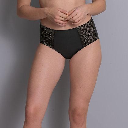 Culotte Havanna Taille Haute - noir ou crystal
