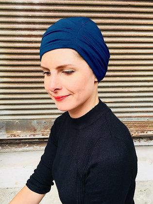 Bonnet prêt à enfiler bleu foncé