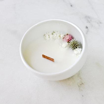 Bougie Fleurie au jasmin - Cocon