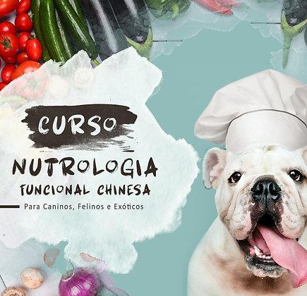 Curso Nutrologia Func. e Dietoterapia Chinesa em Caninos,Felinos e Pets Exóticos