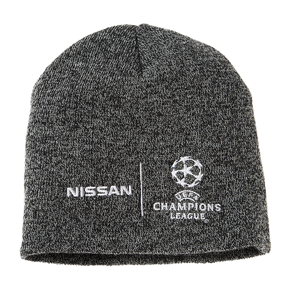 UCL Pull-On Beanie in grau