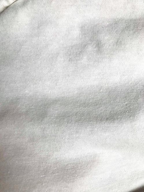 JERSEY 天竺 ヘンプ53%×オーガニックコットン43%×スパンデックス4% 16s 175cm 160g オフホワイト