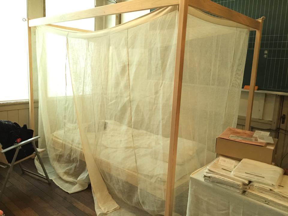 菊屋 自立式大麻蚊帳