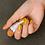 Thumbnail: 古代ネイル KODAI natural nail color #くちばし