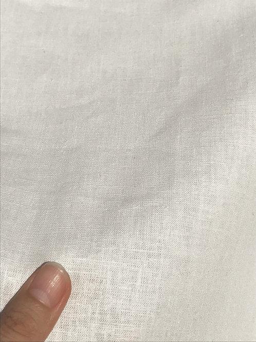 PLAIN  平織生地 16S ヘンプ55%×オーガニックコットン45% 148cm幅 オフホワイト