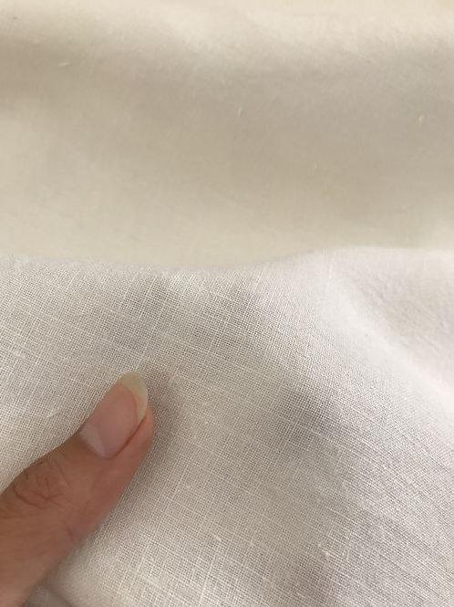 PLAIN 平織生地 18N×18N ヘンプ100% 148cm幅 オフホワイト