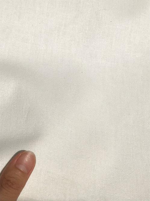 PLAIN  平織生地 11S ヘンプ55%×オーガニックコットン45% 148cm幅 オフホワイト